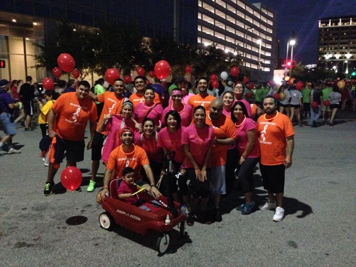 Team Adrian At Light The Night In Houston T-Shirt Photo