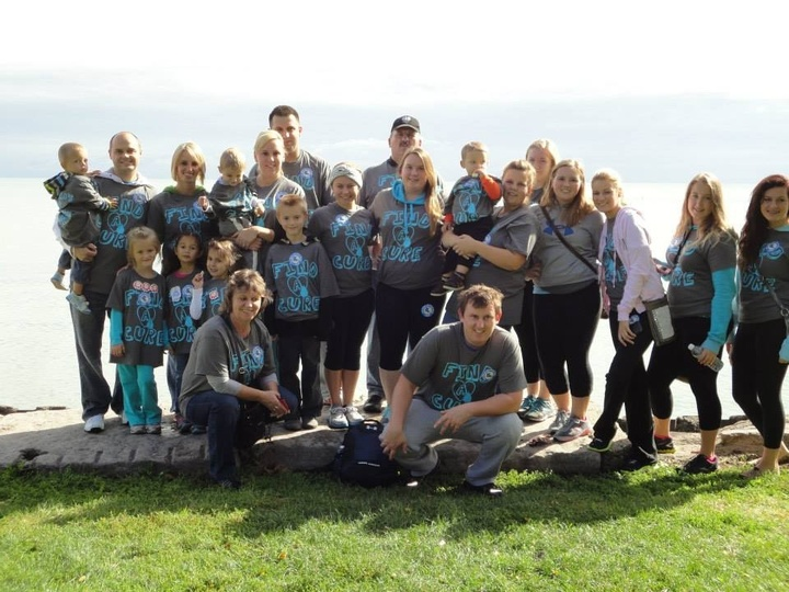 Walk For A Cure! Ewelina's Entourage  T-Shirt Photo