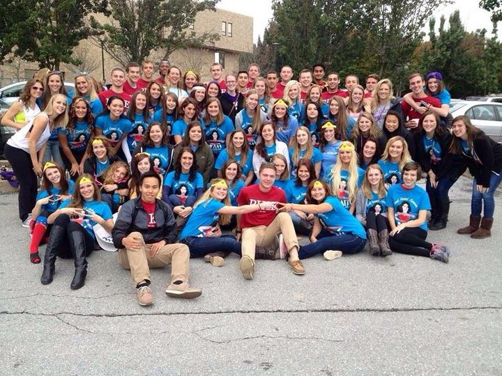West Chester University Alpha Delta Pi Colony | Homecoming 2013 T-Shirt Photo