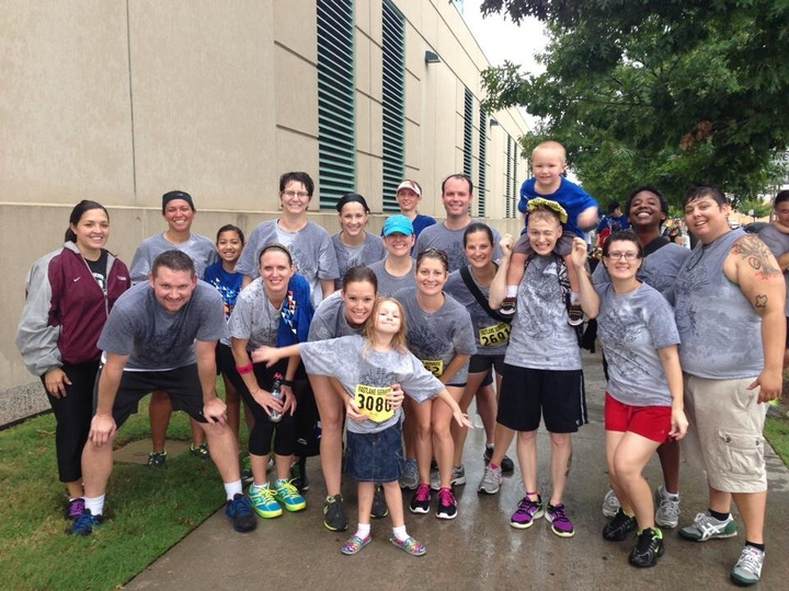 Team Mel, Rain Or Shine.  T-Shirt Photo