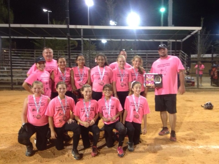Nsa Strike Out Cancer Softball Tournament  T-Shirt Photo