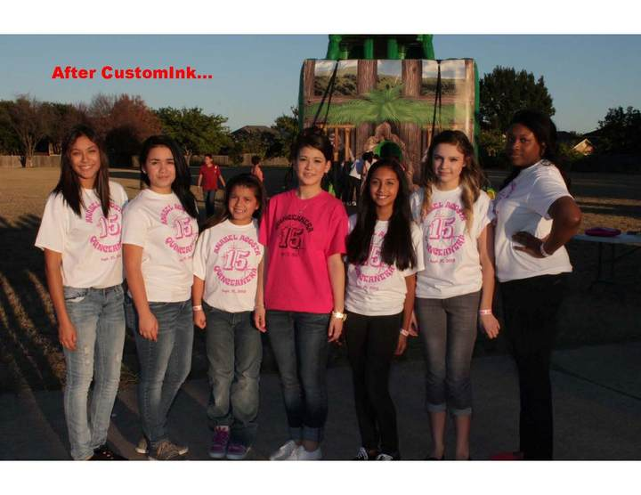 Anabel's Quinceañera Party T-Shirt Photo