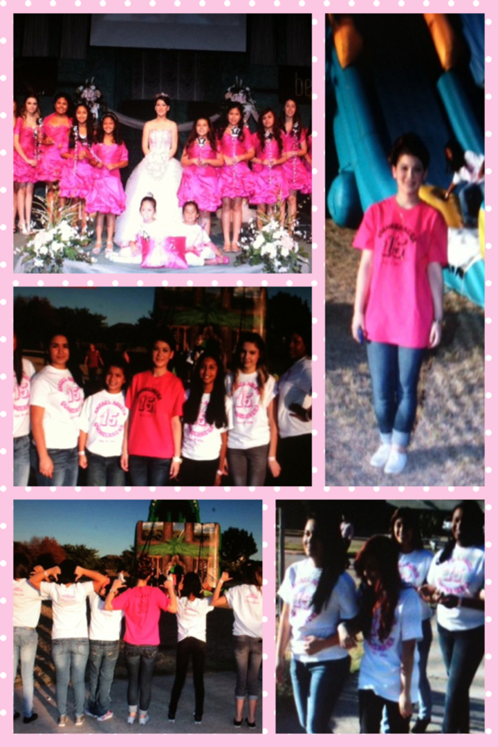 Anabel's Quinceañera T-Shirt Photo