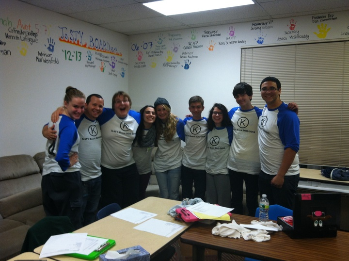 Youth Group Board Love T-Shirt Photo