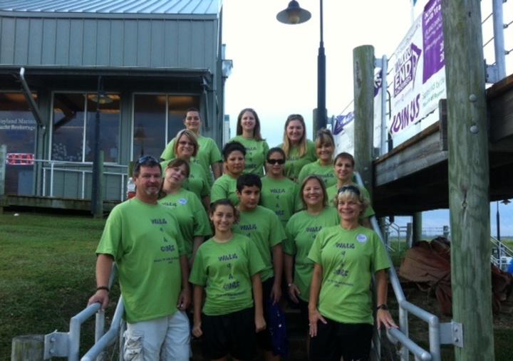 Team Znajomi Walk To End Alzheimer's 2013 T-Shirt Photo