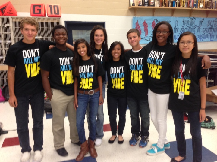 Don't Kill My Vibe! T-Shirt Photo