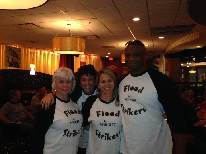 Wright Flood Strikers T-Shirt Photo