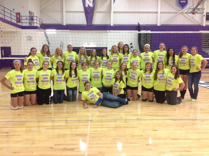 Waukesha A North Girls Volleyball T-Shirt Photo