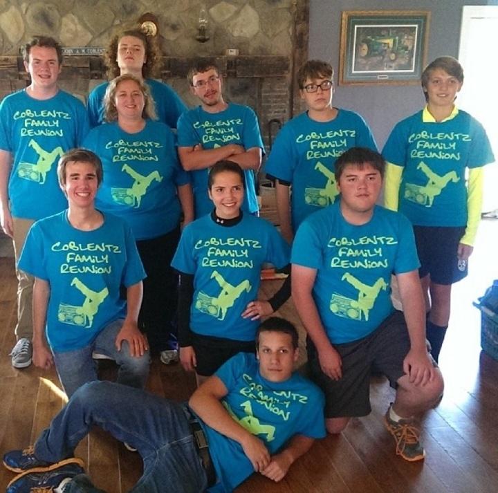 Coblentz Family Reunion T-Shirt Photo