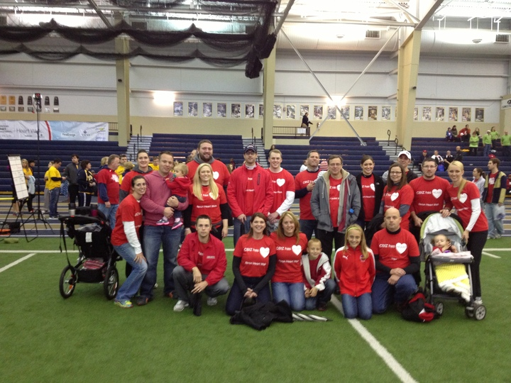 Cbiz Akron Heart Walk T-Shirt Photo