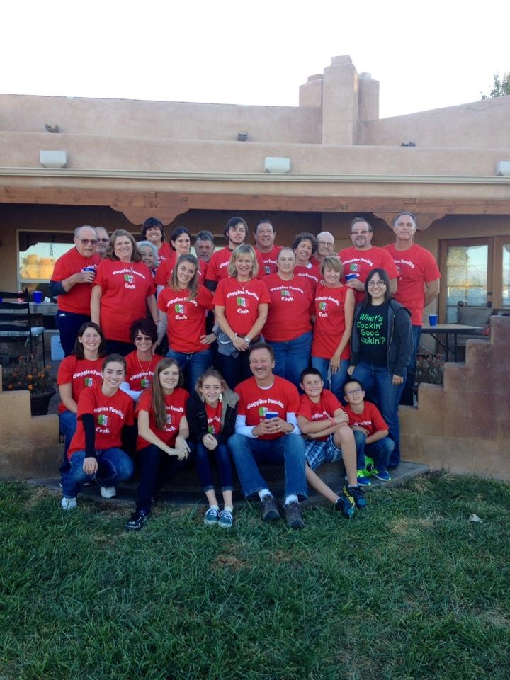 Our Big Italian Family! T-Shirt Photo
