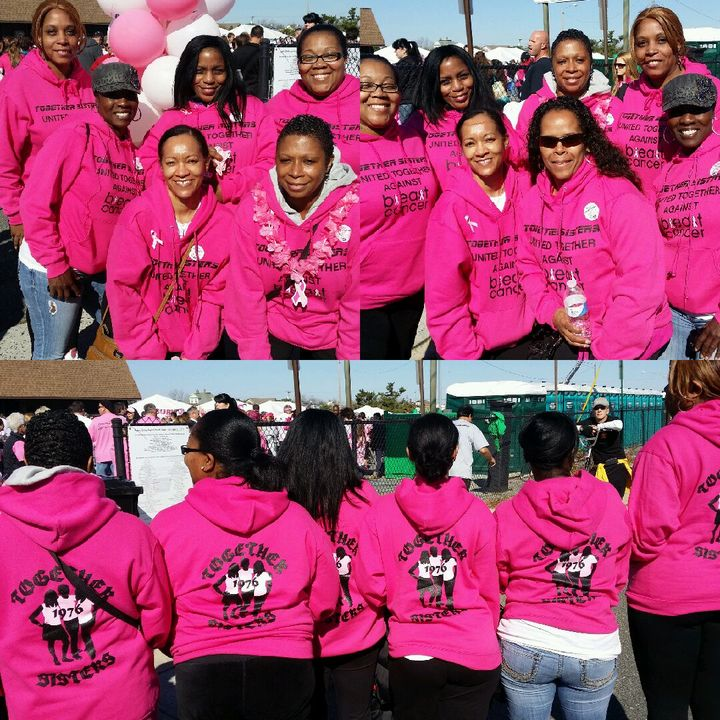 United Together Against Breast Cancer T-Shirt Photo