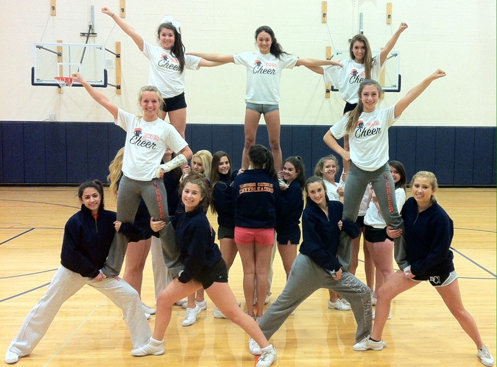 Crusader Cheer Loves Their New Spirit Gear! T-Shirt Photo