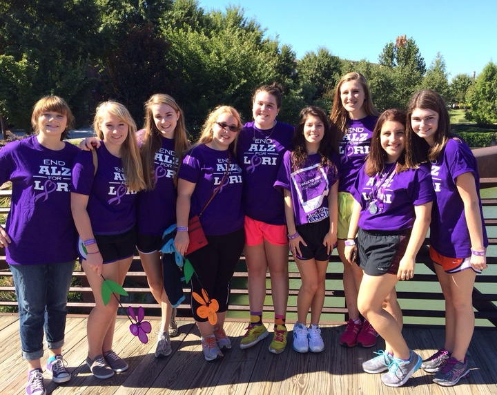 For Lori Walk To End Alzheimer's T-Shirt Photo