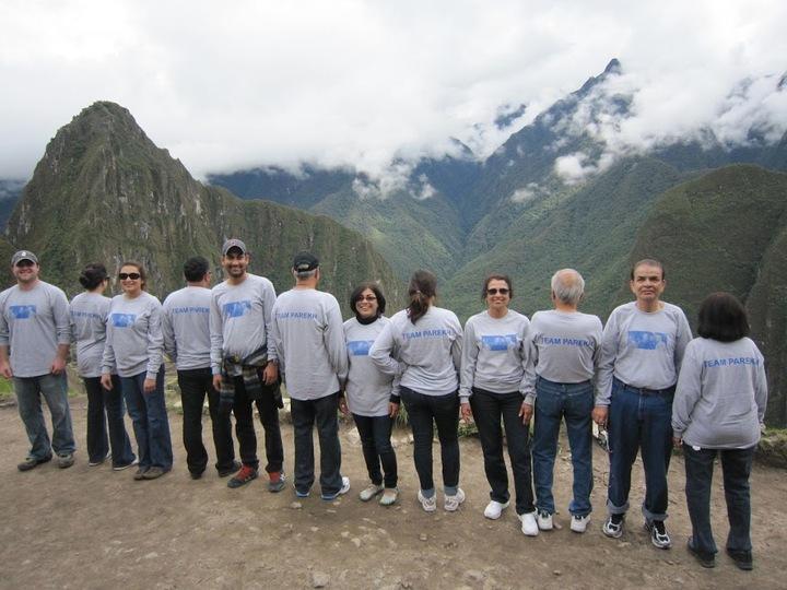 Team Parekh Goes To Machu Picchu T-Shirt Photo