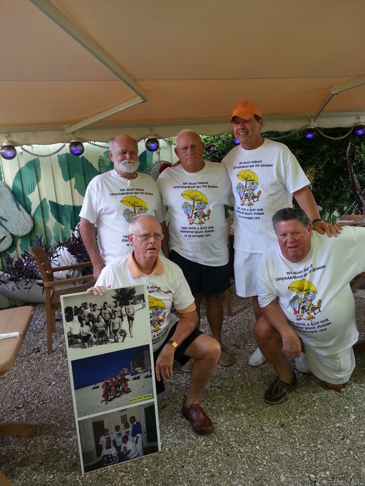 Ed's Beach Service Oct  2013 Reunion T-Shirt Photo