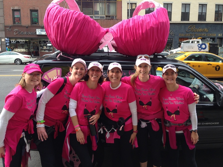Avon Breast Cancer Walk Nyc 2013 T-Shirt Photo