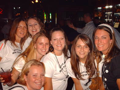 Save A Horse, Ride The Bride....Lea's Last Rodeo! T-Shirt Photo