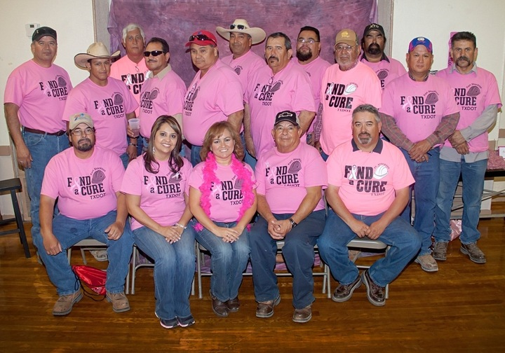 Txdot Goes Pink T-Shirt Photo