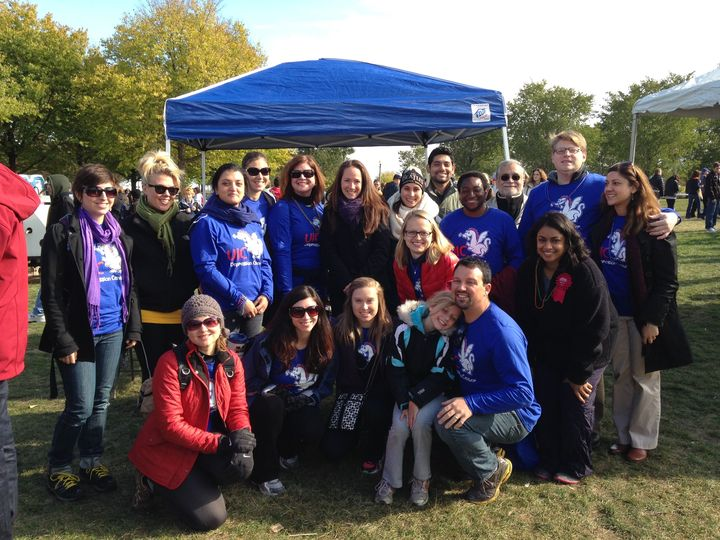 Uic Suicide Prevention Walk T-Shirt Photo