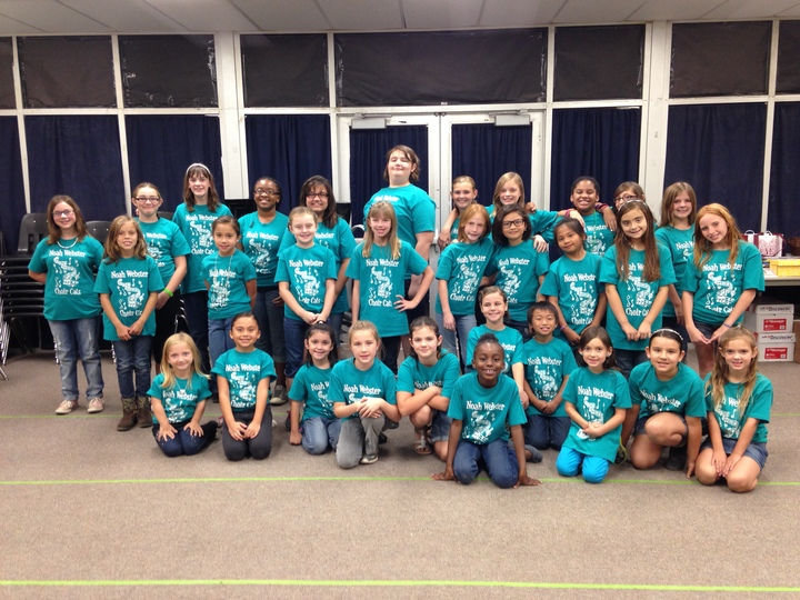 Noah Webster Choir Cats T-Shirt Photo