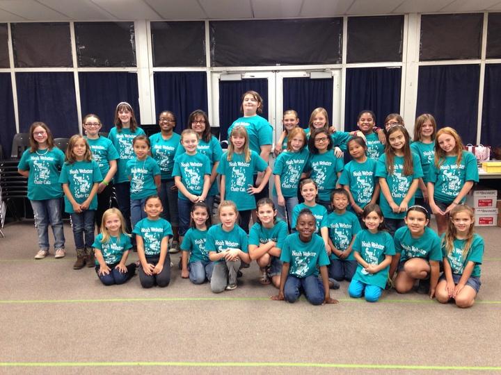 Noah Webster Choir Cats T-Shirt Photo