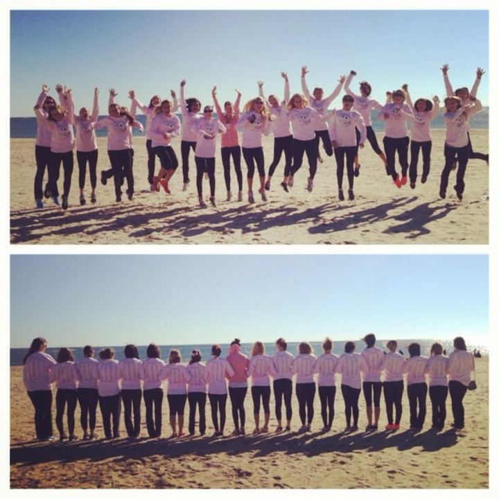 Mu Club Soccer Strides To Fight Cancer T-Shirt Photo