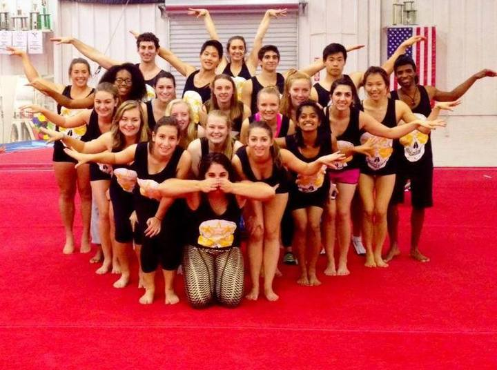 Emory Gymnastics Hosts It's First Home Meet Of The Season! T-Shirt Photo