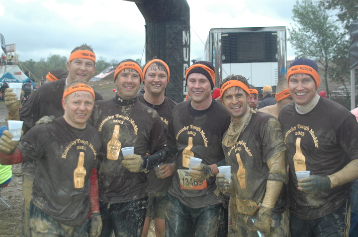 Team Mudder's Mark   Kentucky Tough Mudder T-Shirt Photo