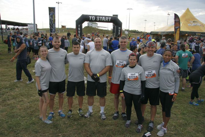 Team Commscope, Tough Mudder Obstacle Event T-Shirt Photo