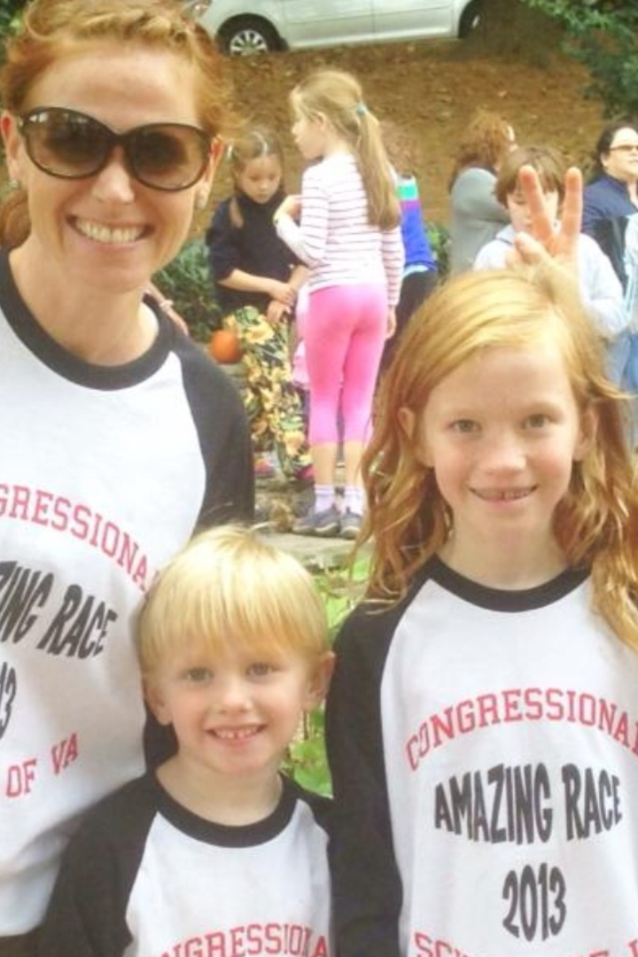 Congressional Schools Of Va Amazing Race T-Shirt Photo