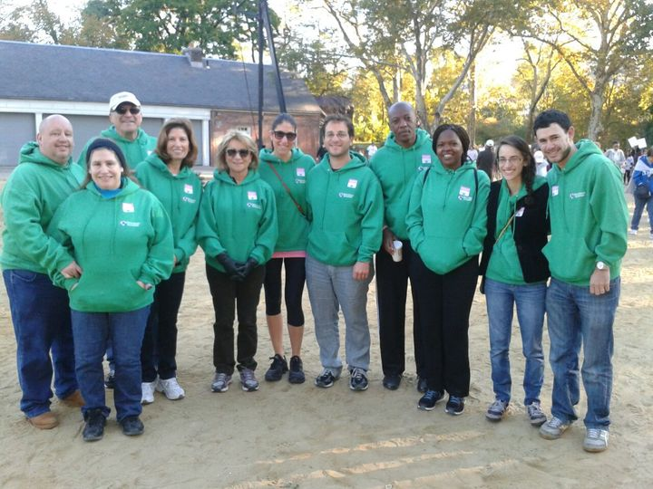 Troutman Sanders Ny 2013 Making Strides Team T-Shirt Photo