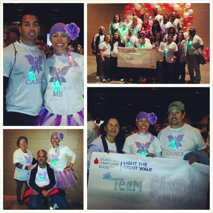 We Walk For Candi @ Light The Night T-Shirt Photo