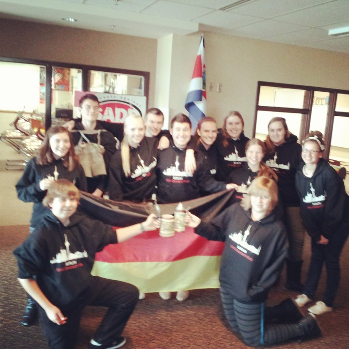We Love Our Deutsch Klub Sweatshirts!! T-Shirt Photo
