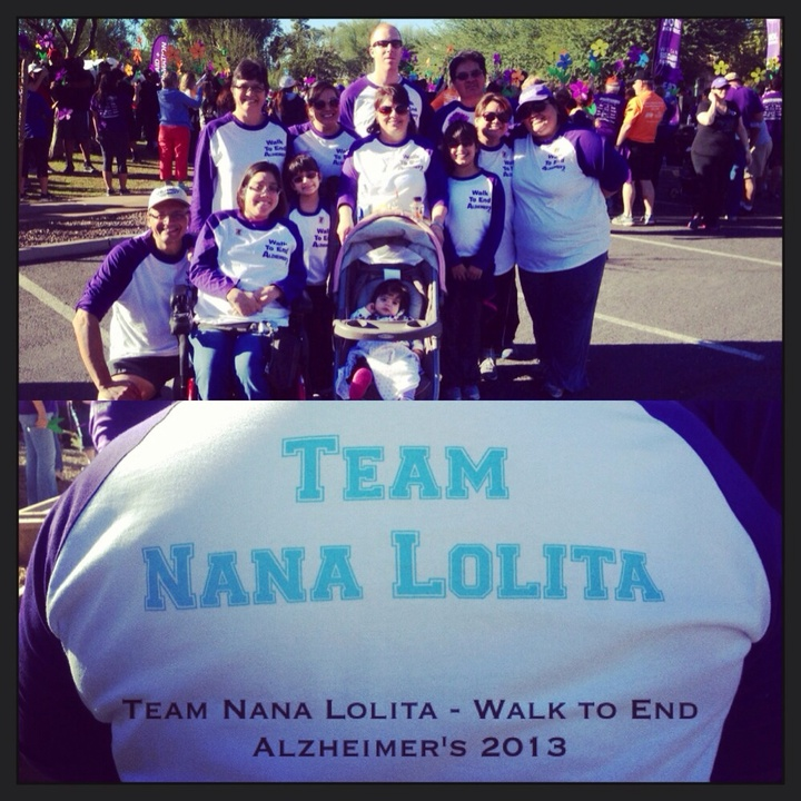 Team Nana Lolita Spirit Crew!!!! T-Shirt Photo