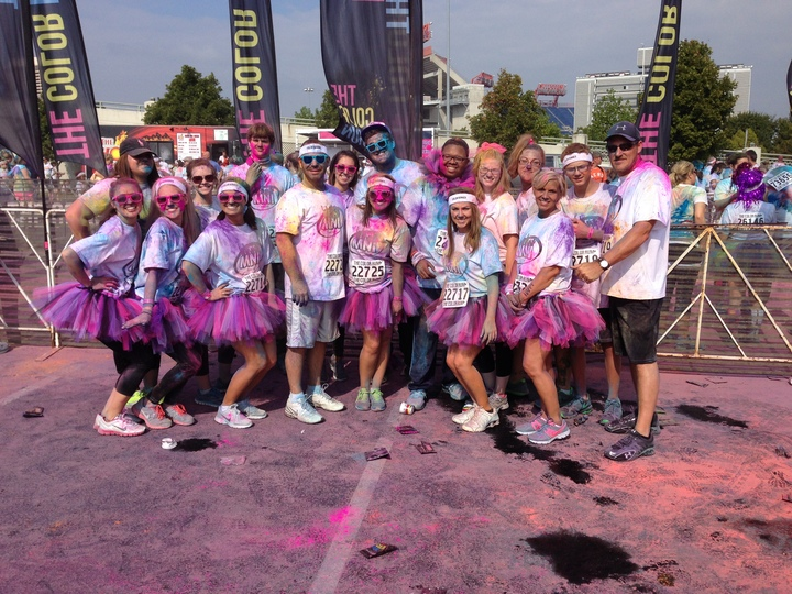 Mni Color Run 2013 T-Shirt Photo