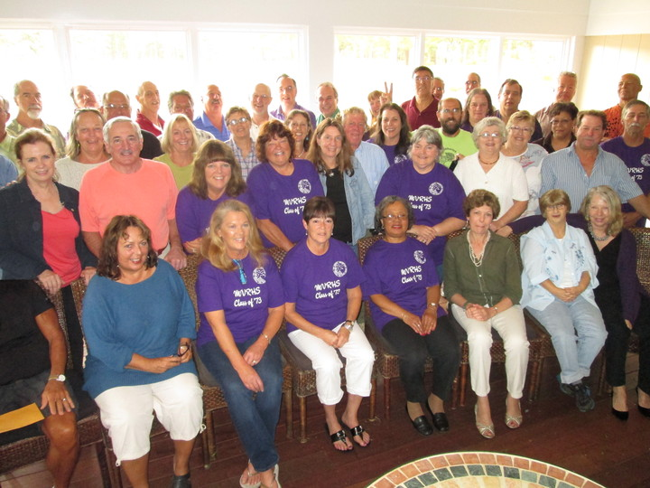 Mvrhs Class Of '73 40th Reunion Brunch T-Shirt Photo