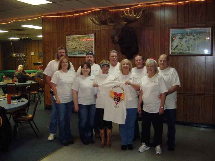 Poker Run Photo T-Shirt Photo