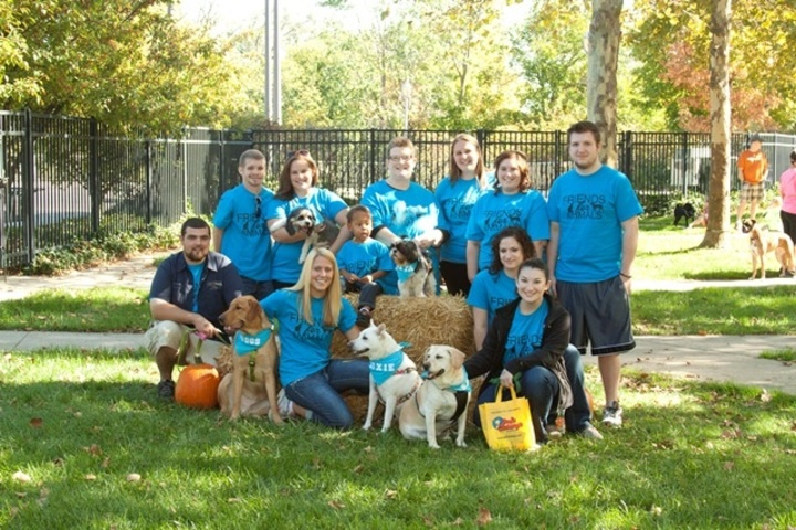Friends For Animals Dog Pack Team  T-Shirt Photo