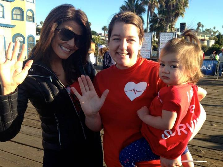 Santa Monica Heart Walk T-Shirt Photo