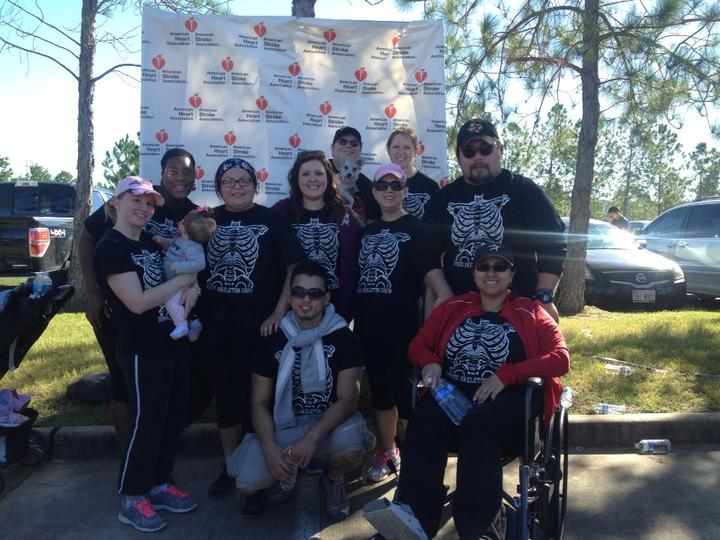 Walk For #58 T-Shirt Photo