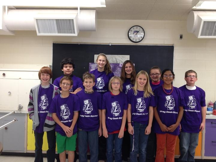 Jr. Geek Squad   Buchanan Middle School T-Shirt Photo
