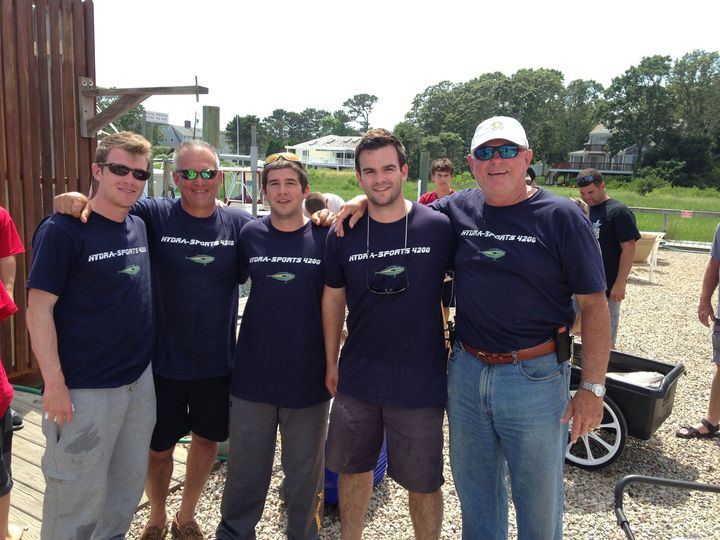 The Infinity Fishing Team T-Shirt Photo
