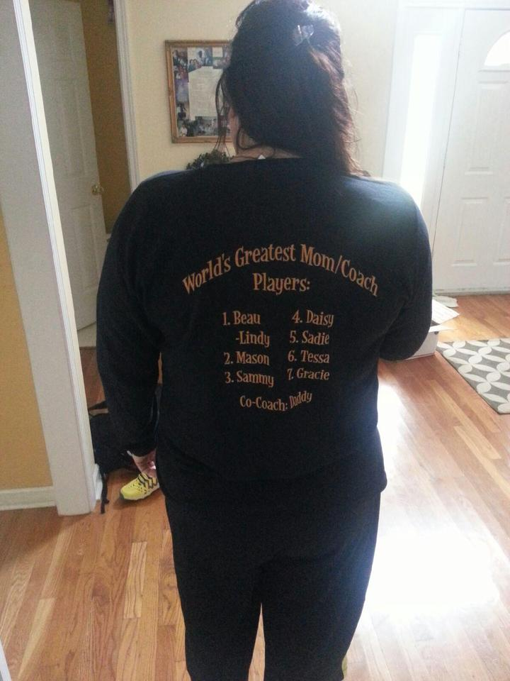 World's Greatest Mom/Coach T-Shirt Photo