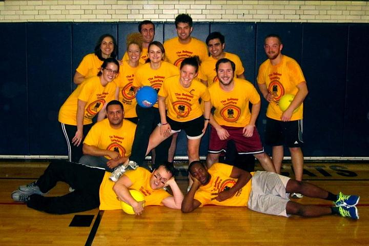 Belmont Transfers Dodgeball T-Shirt Photo