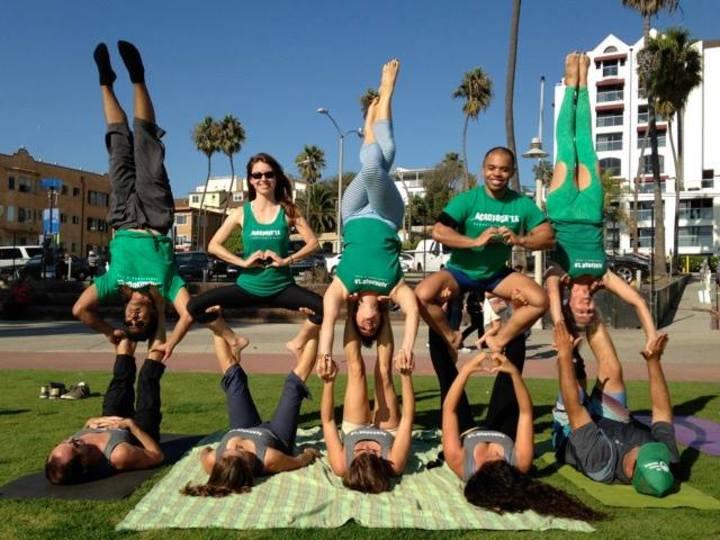 Acro Yoga La <3s Our Shirts! T-Shirt Photo