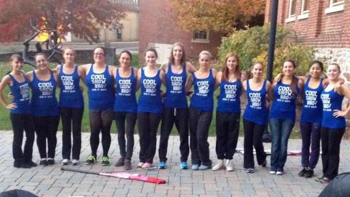 Moravian College Color Guard T-Shirt Photo