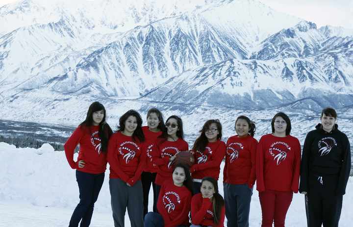 Fairbanks, Alaska Ekcs Warrior Basketball Team T-Shirt Photo