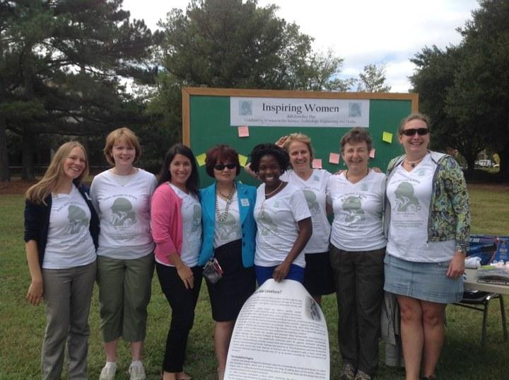 Inspiring Women In Stem T-Shirt Photo