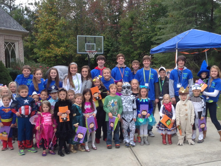 Charity Trick Or Treat Camp T-Shirt Photo